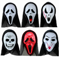 Wholesale Halloween Scary Mask Horror Skull Skeleton Mask For Halloween Masquerade Cosplay Style Choose GNM