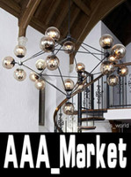 110V chandelier - Modern Glass Chandeliers Jason Miller MODO Chandelier Droplight Heads Living Room Pendant Lamp Light Lighting For Restaura