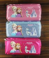 Wholesale - 12pcs Frozen Elsa Anna cartoon wallet change poc...