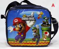 Hot Sell Children' s Super Mario Bros Cartoon Lunch Box ...