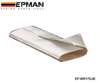 Wholesale Tansky High Quality NEW EPMAN Racing Adhesive Backed Aluminum Heat Barrier inch inch SILVER EP WR17DJB