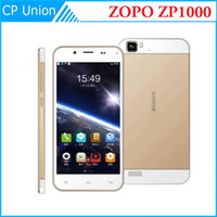 Cheap Wholesale - Super Gold Original ZOPO ZP1000 1.7GHZ MTK6592 Octa Core FHD 5 inch 14MP Dual Camear 1G RAM 16G ROM Dual SIM Android 4.2 Phones-