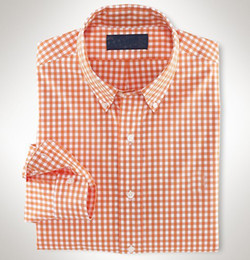 Wholesale Men Check Patter Casual Shirts Stretch Cotton Top With Logo Colors Summer Fashion Hot Sale Size M XXL Mix Order