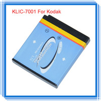 Wholesale Original Camera Battery KLIC KLIC7001 mAh For Kodak M341 M340 M320 M1073 Best Batterie Bateria Akku