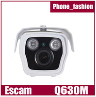 Wholesale EU PLUG Escam Q630M H CMOS Security IP Network Camera w LED IR Night Vision Onvif DOME Camera