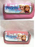 Cheap Fashion FROZEN magic snow adventure canvas style multi pencil case wallet cosmetic bags school supplies