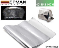 Wholesale Tansky High Quality NEW EPMAN Racing Aluminum Heat Barrier inch in stock Sliver EP WR16BDJB