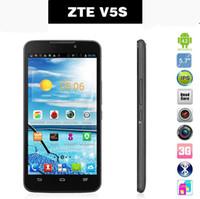"Cheap ZTE Memo V5S 3G WCDMA Phone MTK6589 Quad Core 5.7"" IPS 1280x720 Android 4.2 8.0MP Dual Camera Dual SIM GPS 1GB ROM 4GB Rom Smart phone"