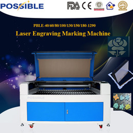 Wholesale Leather Acrylic glass MDF board laser engraving machine cutting machine W