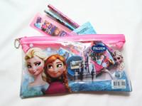 Wholesale - 20 set Frozen pencil Stationery gift 7pcs set pe...