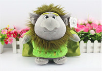 Frozen Trolls Plush Toys Stone Kristoff Friend Rock People G...
