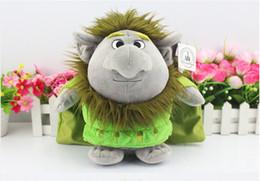 Wholesale Frozen Trolls Plush Toys Stone Kristoff Friend Rock People Grand Pabbie Plush Toys Soft Stuffed Dolls quot CM