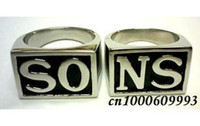 Party band of angels - Fashion Sons Of Anarchy Jax teller ring set samcro hells harley angels colors