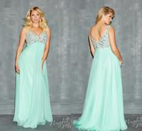 Seafoam green plus size evening dresses – Dress ideas