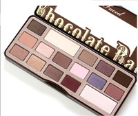 Wholesale New USA Chocolate Bar Eyeshadow Palette Colors Eyeshadow Eye Shadow Blush Makeup Cosmetic Palette Eye Shadow Palette Mineral Eyeshadow