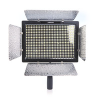 Wholesale Yongnuo YN LED Studio Video Light Lamp Color Temperature Adjustable for Canon Nikon Camcorder DSLR Power Adapter Remote