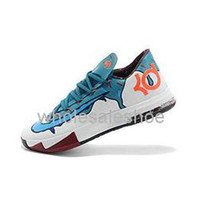 Cheap Free shipping Nike - Mens Basketball Shoes New Kevin Durant VI KD 6 Low Lace Up Mens Basketball Shoes Athletic Kd6 Sneakers