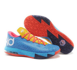 Wholesale Nike Discount Mens Basketball Shoes KD New Arrival KD6 Shoes Famous Player Kevin Durant KD VI ELITE SERIES Men s Basketball Shoes