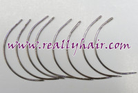 Wholesale C style mm weaves weft needle pack a hair extensions tool accessories