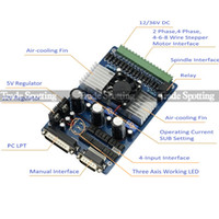 Cheap New CNC Router 3 Axis TB6560 3.5A Stepper Motor Driver Board For Engraving Machine by EXPRESS Free Shipping