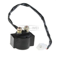 Wholesale 12V Start Solenoid Relay For ccm Motorcycle scooter moped ATV New