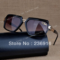 Cheap Wholesale-OP-Top quality Cazal sunglasses MOD:6004 oversized vintage unisex Full rim 2013 Germany Free shipping with Original case free