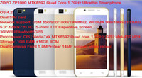Cheap Wholesale - 5.0 inch ZOPO ZP1000 Android Mobile Phone MTK6592 Octa core 1.7GHz 1GB RAM 16GB ROM 3G WCMDA Dual Sim Card--free shipping--by DH