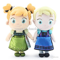 In Stock ! New Frozen childhood Plush Elsa Anna baby plush S...