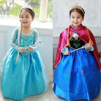 Cheap Girl Birthday Party Dress Best 2-3T  Elsa Dresses