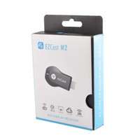 Wholesale Newest version P HDMI smart tv box EZcast EZ Cast M2 WIFI Display Receiver Chromecast HDMI HD TV internet media player feeshipping