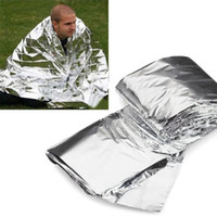 Wholesale OP New Arrival pc Mylar Rescue Space Foil Thermal Emergency Blanket Camping Hiking quot X quot