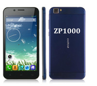 """Cheap Wholesale - ZOPO ZP1000 5.0""""IPS HD Capacitive Screen MTK6592 Octa Core Phone 1.7GHz Android 4.2 OS 1GB+16GB 14MP 3G GPS OTG mobile Phone--fr"""