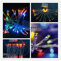 Wholesale M LED String Warm Cool White Christmas Light Wedding Party Decoration String Lights