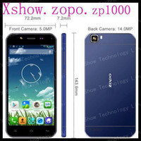 "Cheap Wholesale - Original ZOPO ZP1000 MTK6592 octa core Phone android 4.2 smart phone 5"" capacitive 1280*720 dual sim 5MP Front 14MP Back OTG--fr"