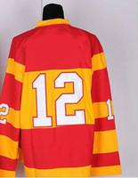 Cheap Wholesale New Style Ice Hockey Jerseys CF #12 Jarome Iginla Orange Jerseys,Customized Cheap Jerseys,Sport Jerseys,High quality jerseys