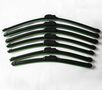 Wholesale 2 Pieces Hot Sale Universal Soft Frameless Car Windshield Wiper Blade Windscreen Wipers quot cm