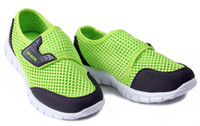 Wholesale OP Children being sale gauze network leisure sports shoes EVA sole material lightweight breathable shoes boy girl running shoes