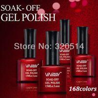 Wholesale OP New Colors Fashion ML Vinimay Soak Off UV Gel Polish Nail Art Gel Salon Long Lasting Nail Gel LED Lamp Tips Freeshipping