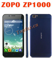 Cheap Wholesale - New Original ZOPO ZP1000 MTK6592 Octa Core Mobile Phone 1GB RAM 16GB ROM 5.0 Inch Android Smart phone 14.0MP 3G WCDMA GPS--free