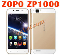 Cheap Wholesale - Original ZOPO ZP1000 MTK6592 Octa Core Mobile Phone 1GB RAM 16GB ROM 5.0 Inch Unlocked Smartphone 14.0MP 3G WCDMA GPS--free ship