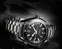 007 - Brand New Skyfall James Bond Limited Edition Dive Mens Sports Watch Stainless steel Bracelet Black Men s Mechanical Watches