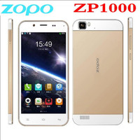 Cheap Wholesale - new in stock original zopo 1000 octa core smart phone zopo zp1000 7.2mm Ultra Slim MTK6592 1G 16G WCDMA ANDROID 4.2 PHONE--free