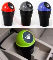 Wholesale Hot Sale PC Mini Office Home Auto Vehicle Car Trash Rubbish Bin Can Garbage Dust Case Holder