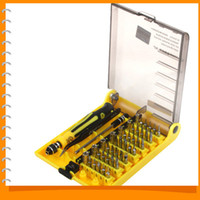 Cheap 42 in 1 Professional Hardware Precision Screwdriver Box Manual Repair Tools Set Kit Screw Driver Case for Mobile Cell Phones