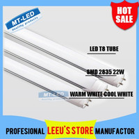 Wholesale X50 FEDEX FREE SHIPPPING LED T8 Tube W LM SMD Light Lamp Bulb feet m mm V led lighting fluorescent led tubes bulb