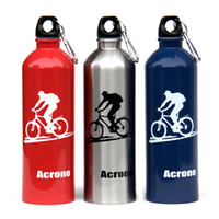 bicycle tier - OP Acrono bicycle water bottle outdoor sports bottle stainless steel single tier ml ride