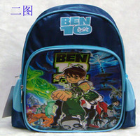 Hot Sell Children' s BEN 10 Cartoon Backpacks Schoolbags...
