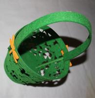 Wholesale Felt Easter gift baskets