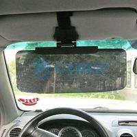 Cheap Free Shipping New Anti-glare Car Auto Sunglasses Sun Visor Flip Adjustable Extension Shield Driving (SD-2301)