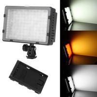 Wholesale CN LED Video Light for Camera DV Camcorder Lighting K Freeshipping Dropshipping